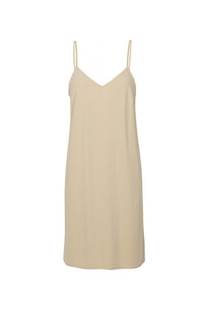 Melanie Slip Dress - Nude