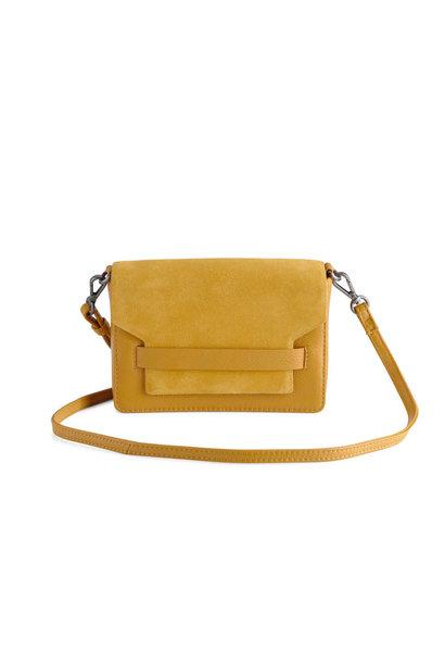 Vanya Crossbody Bag Suede - Amber