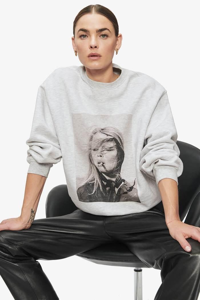 Ramona Sweatshirt AB x TO - Grijs Melange-2