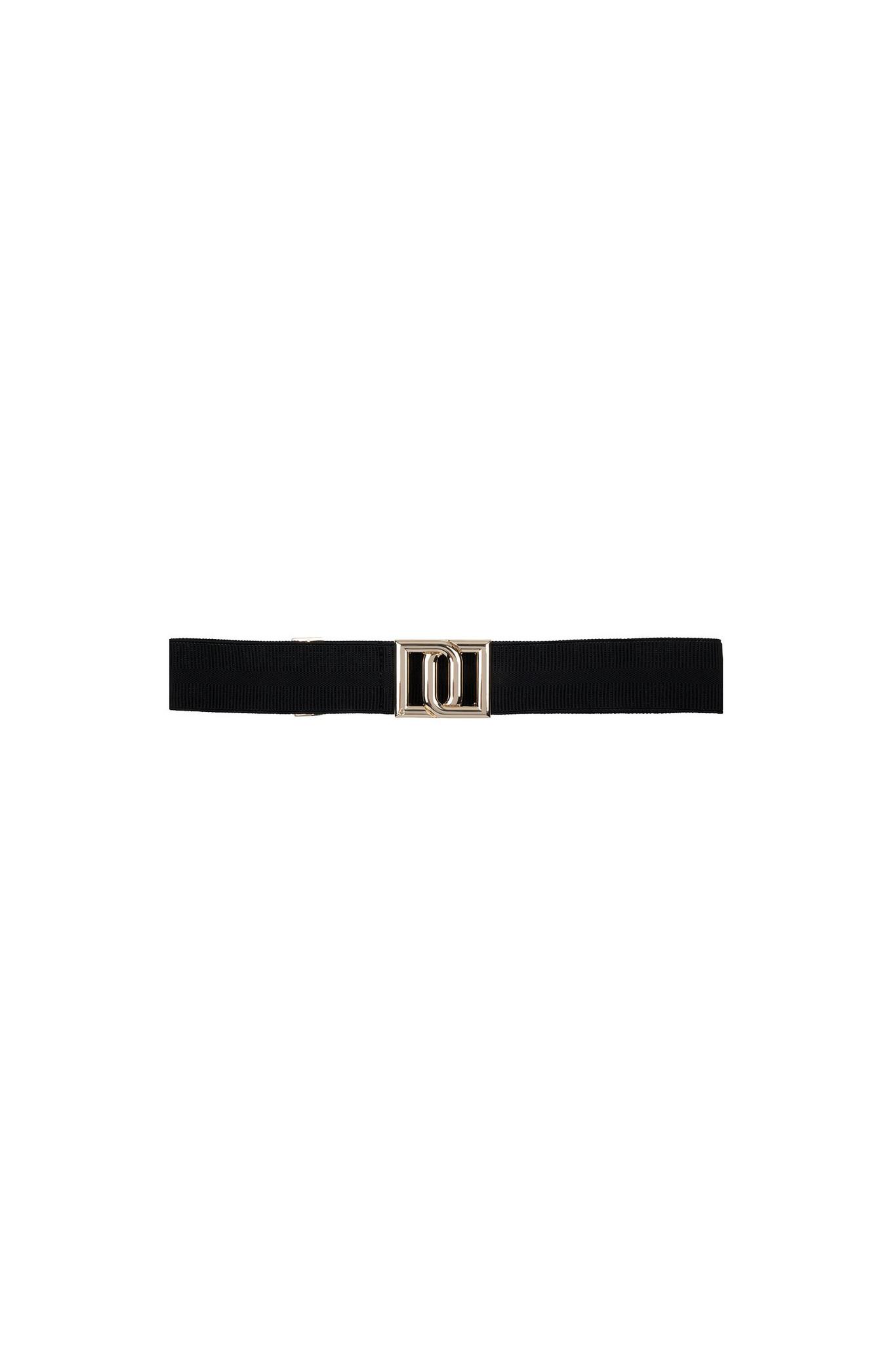 Monogram Belt - Raven-1