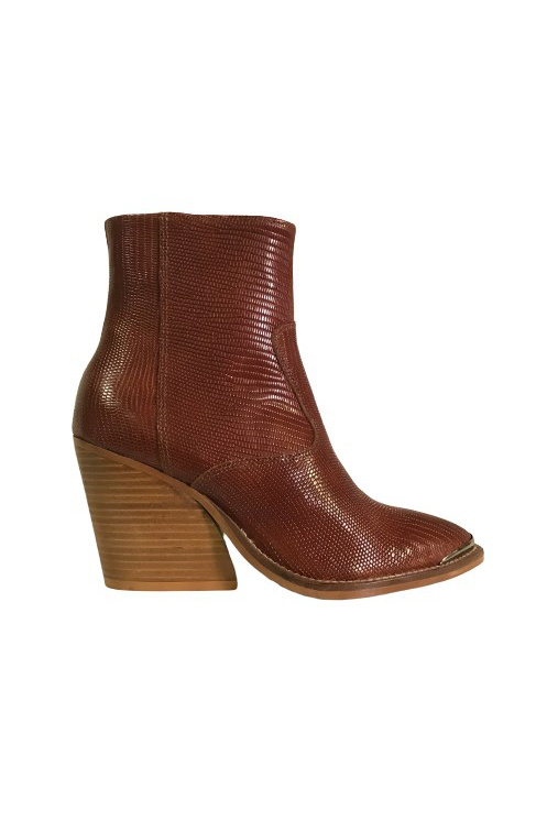 Sofia Boot - Tan Lizard-1