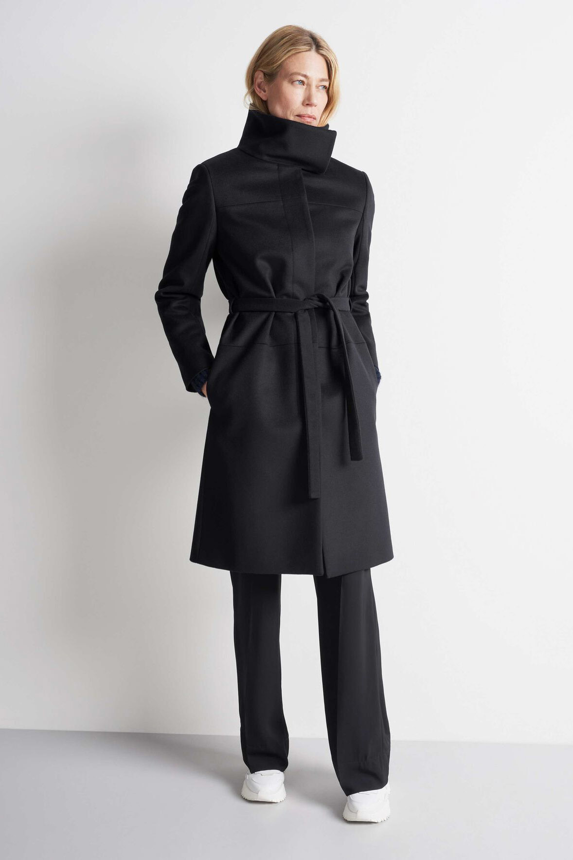 Cori Coat - Black-5
