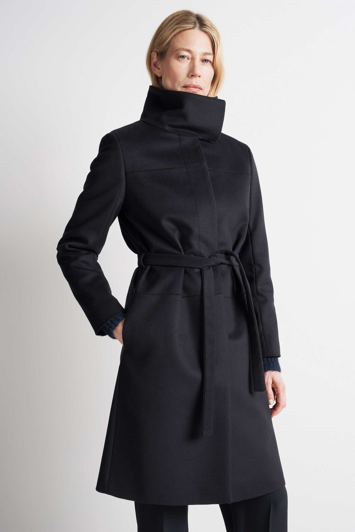 Cori Coat - Black-2