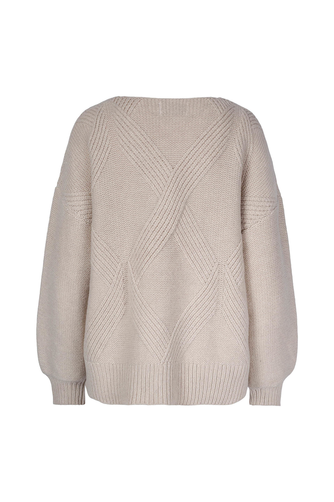 Hermine Sweater - Antique White-2
