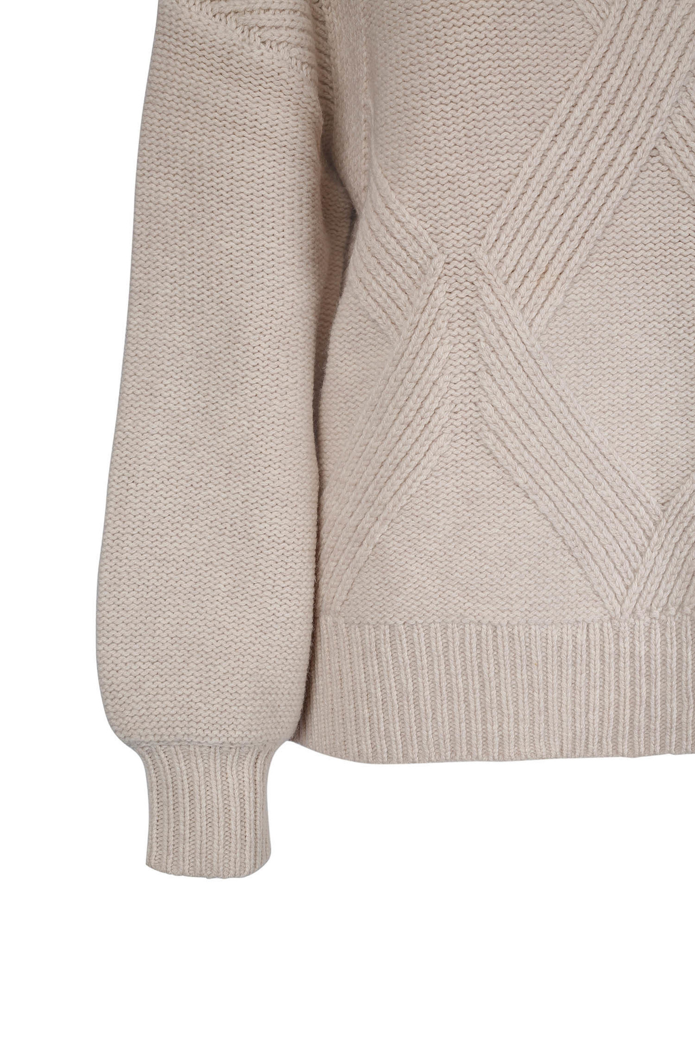 Hermine Sweater - Antique White-3