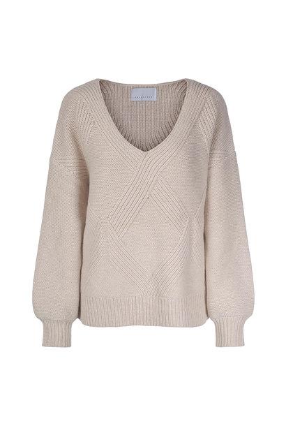 Hermine Sweater - Antiek Wit