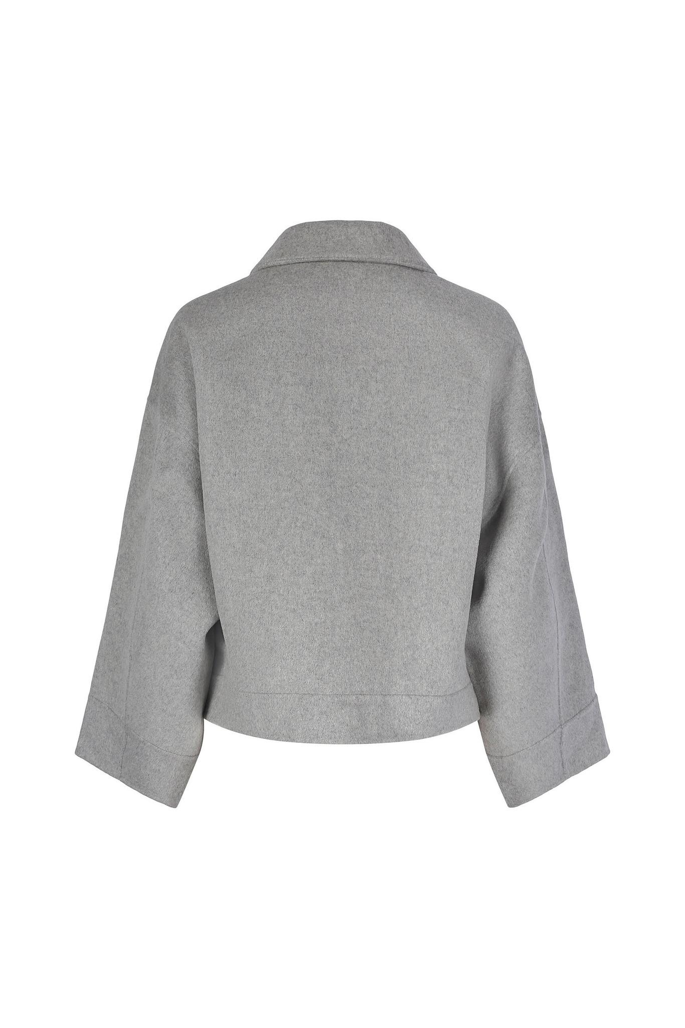 Andy Wool Jacket - Light Grey XS-3