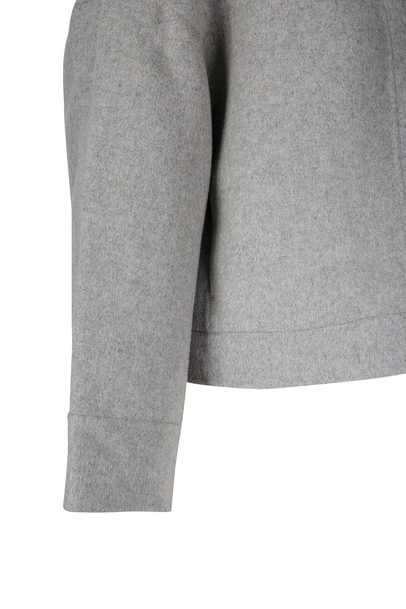 Andy Wool Jacket - Light Grey XS-4