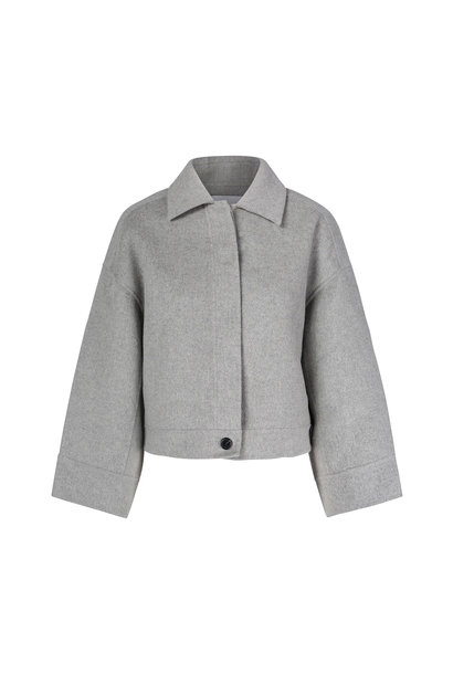 Andy Wool Jacket - Light Grey XS