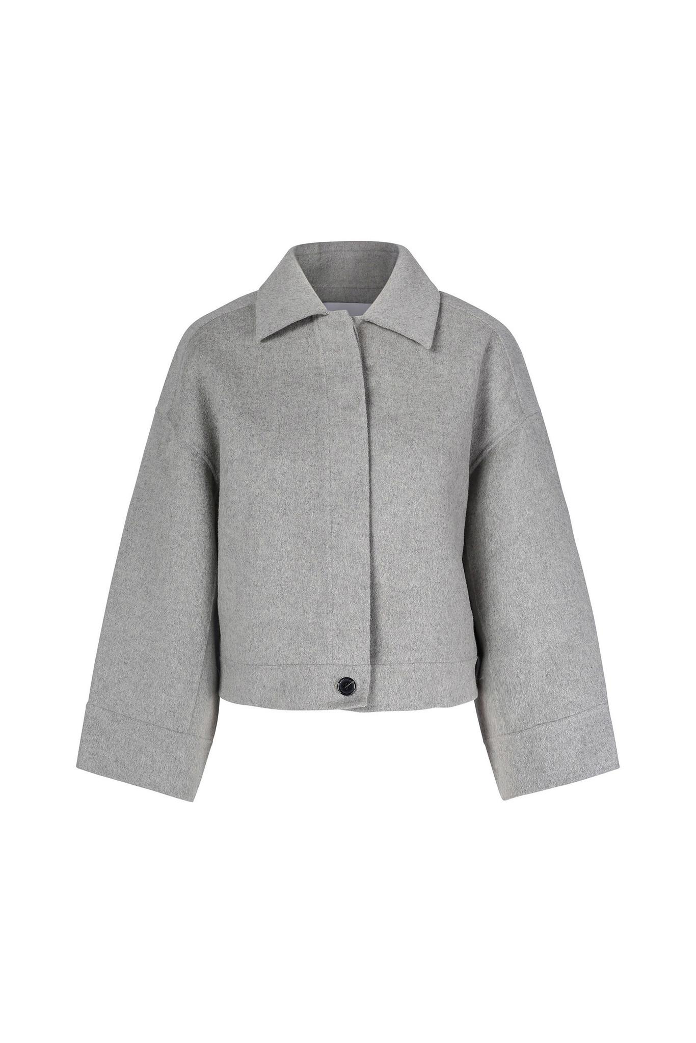 Andy Wool Jacket - Light Grey XS-1