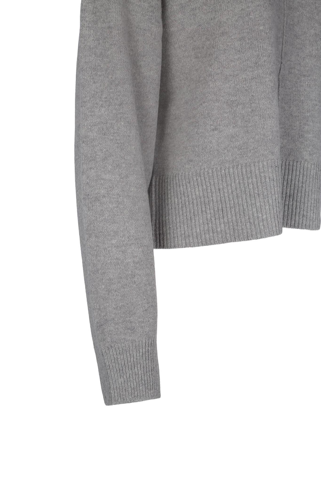 Gigi Sweater - Light Grey-3