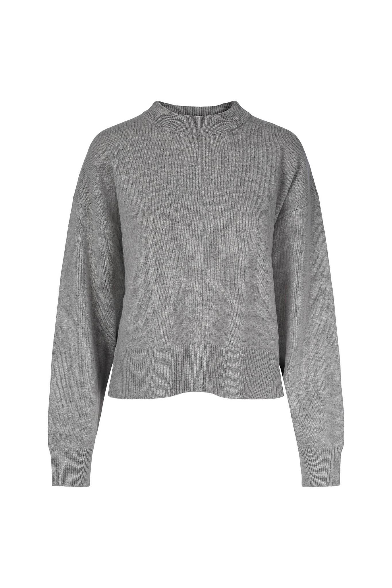 Gigi Sweater - Light Grey-1