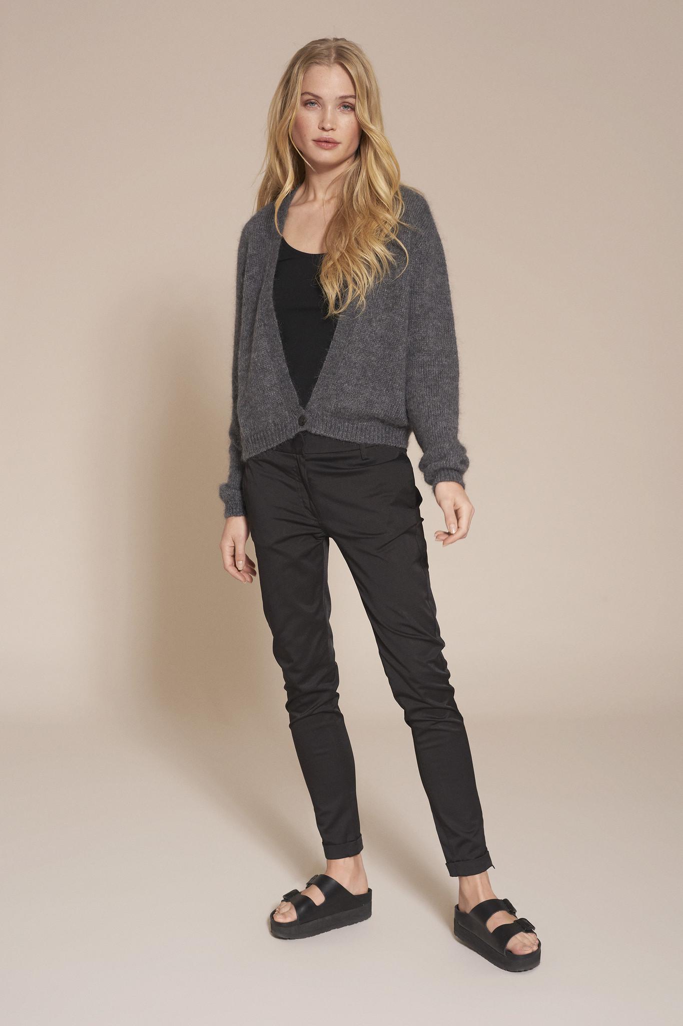 Celine Vest - Zwart-3