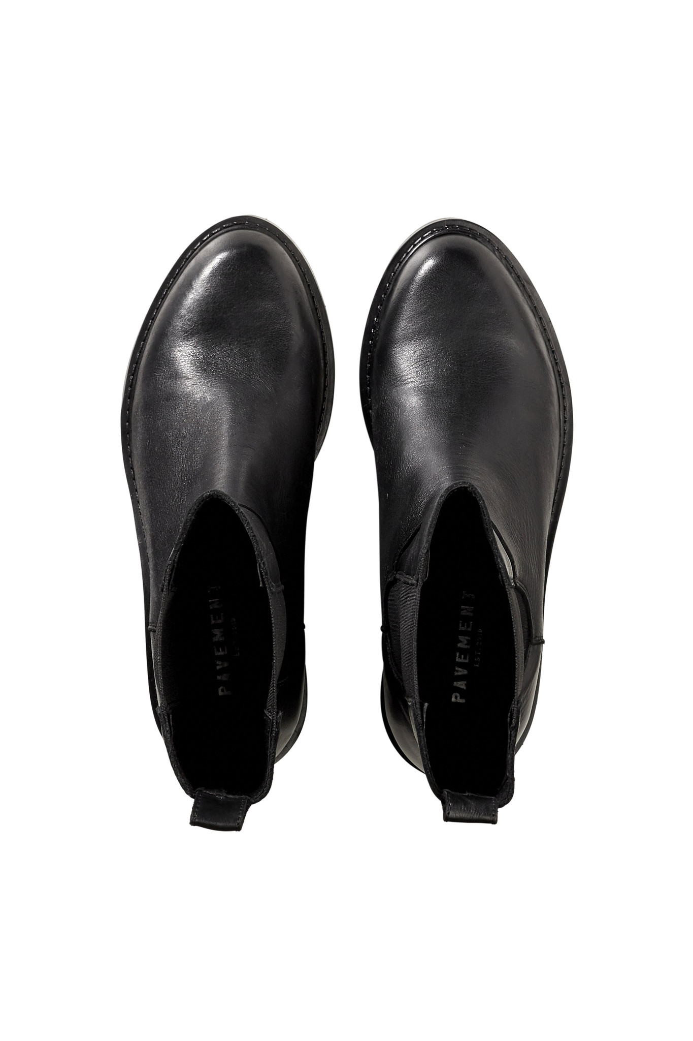 Ines Leather Boots - Black-3
