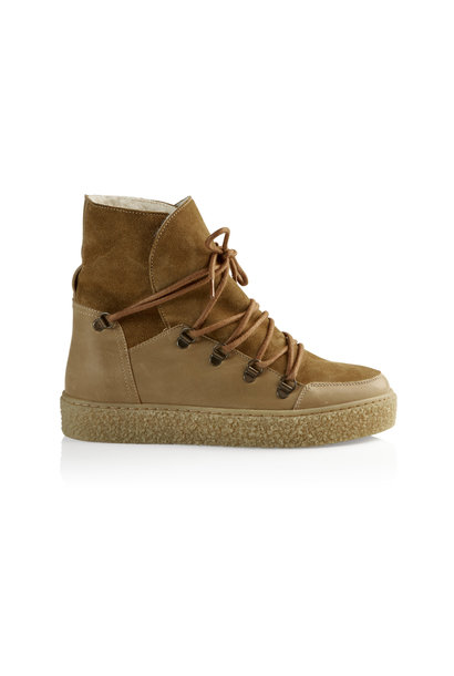 Lola Wool Boot - Khaki 40