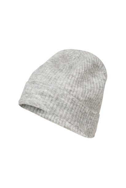 Rhonda Hat - Light Grey Melange