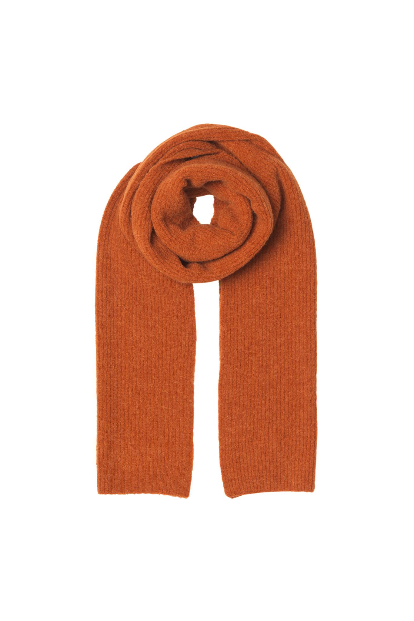 Rhonda Sjaal - Gebrand Oranje-1