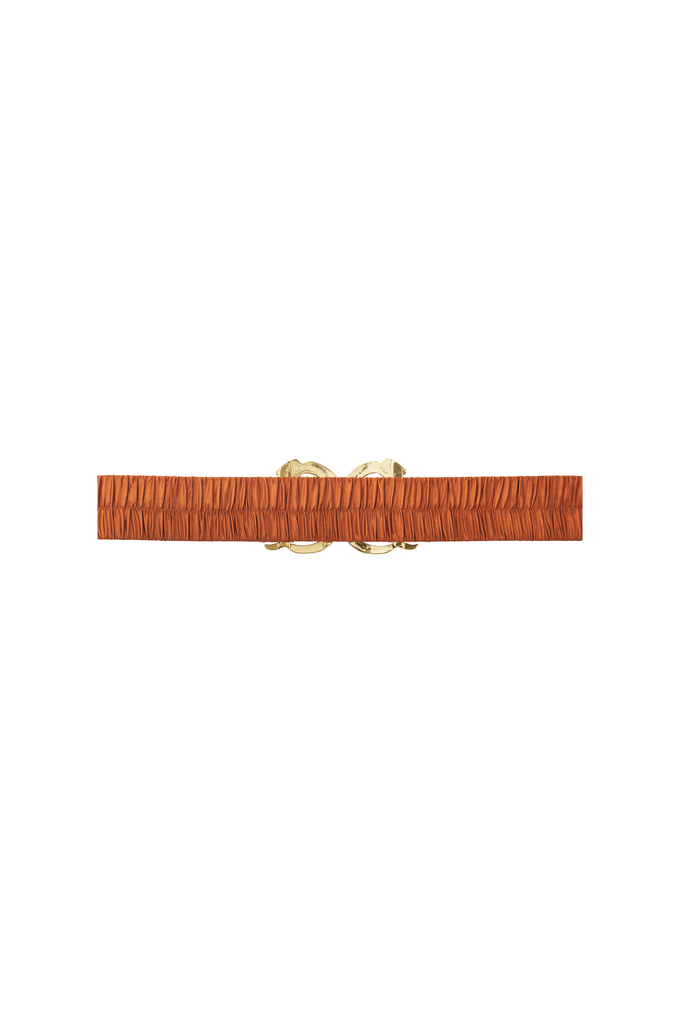 Otis Waist Belt - Burnt Orange-2