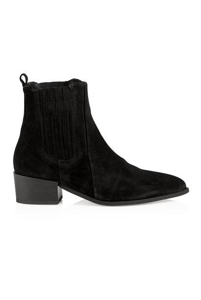 Sage Boot - Black Suede