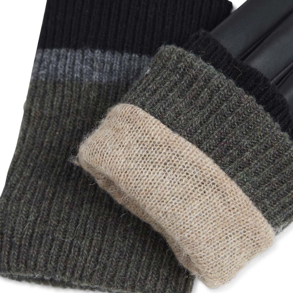 Helly Glove - Black w/ Black + Grey + Olive-4
