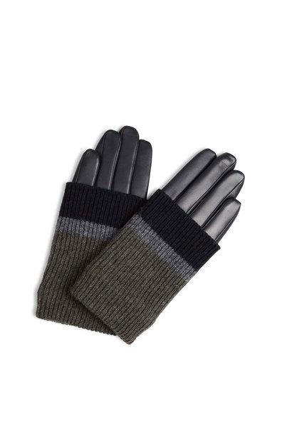 Helly Glove - Black w/ Black + Grey + Olive