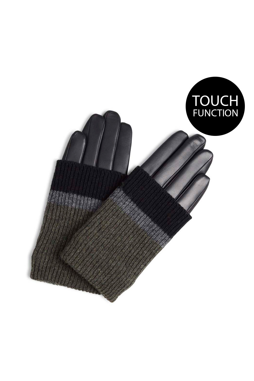 Helly Glove - Black w/ Black + Grey + Olive-5