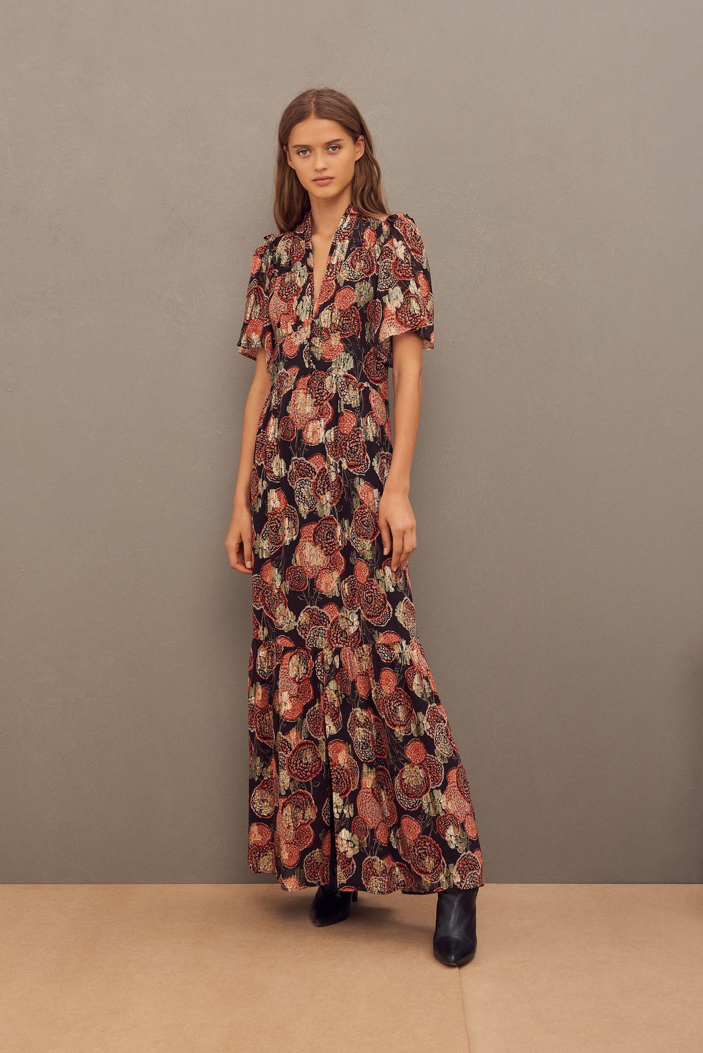 Hide Dress Maxi - Black-2