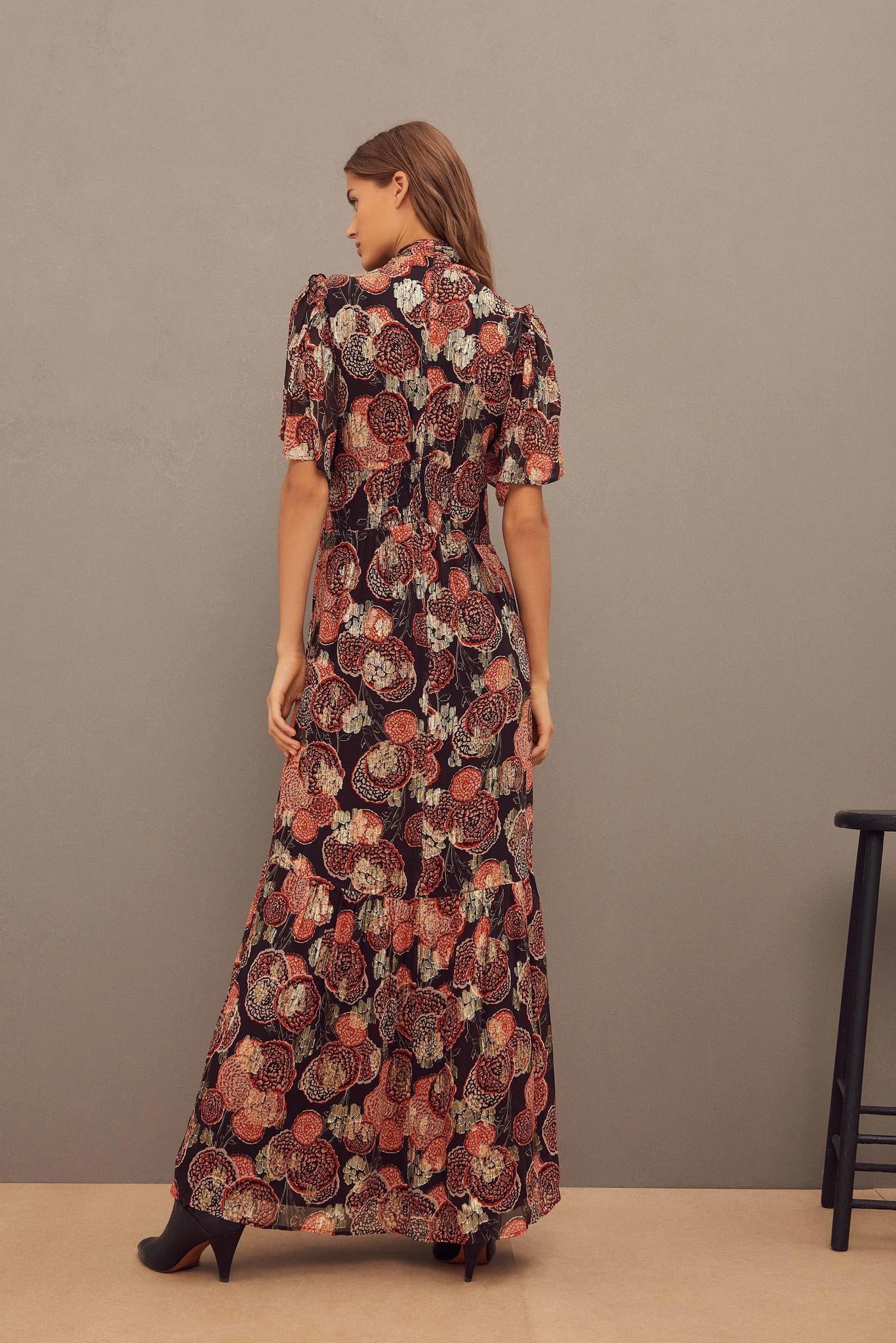 Hide Dress Maxi - Black-7