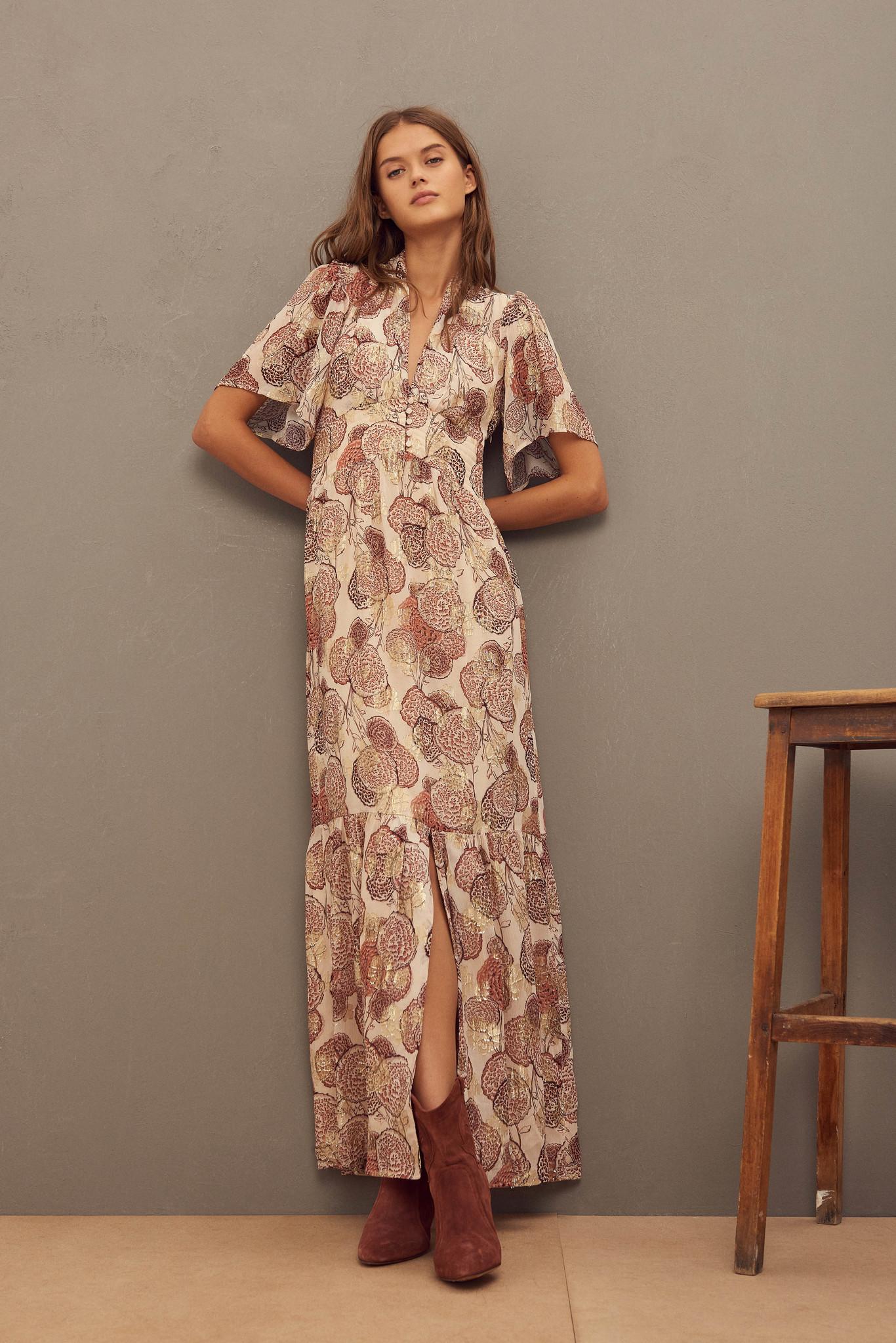 Hide Dress Maxi - Pink-2