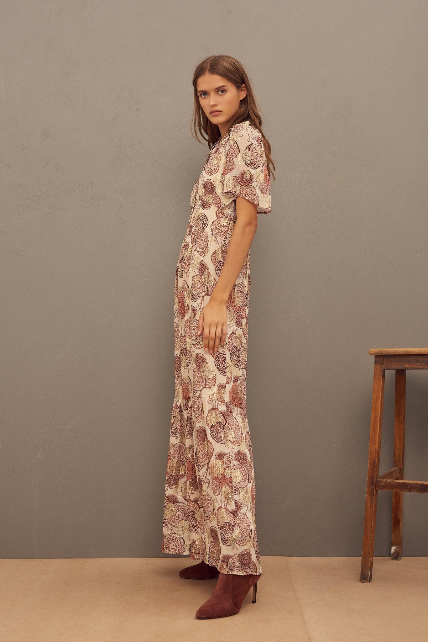 Hide Dress Maxi - Pink-4