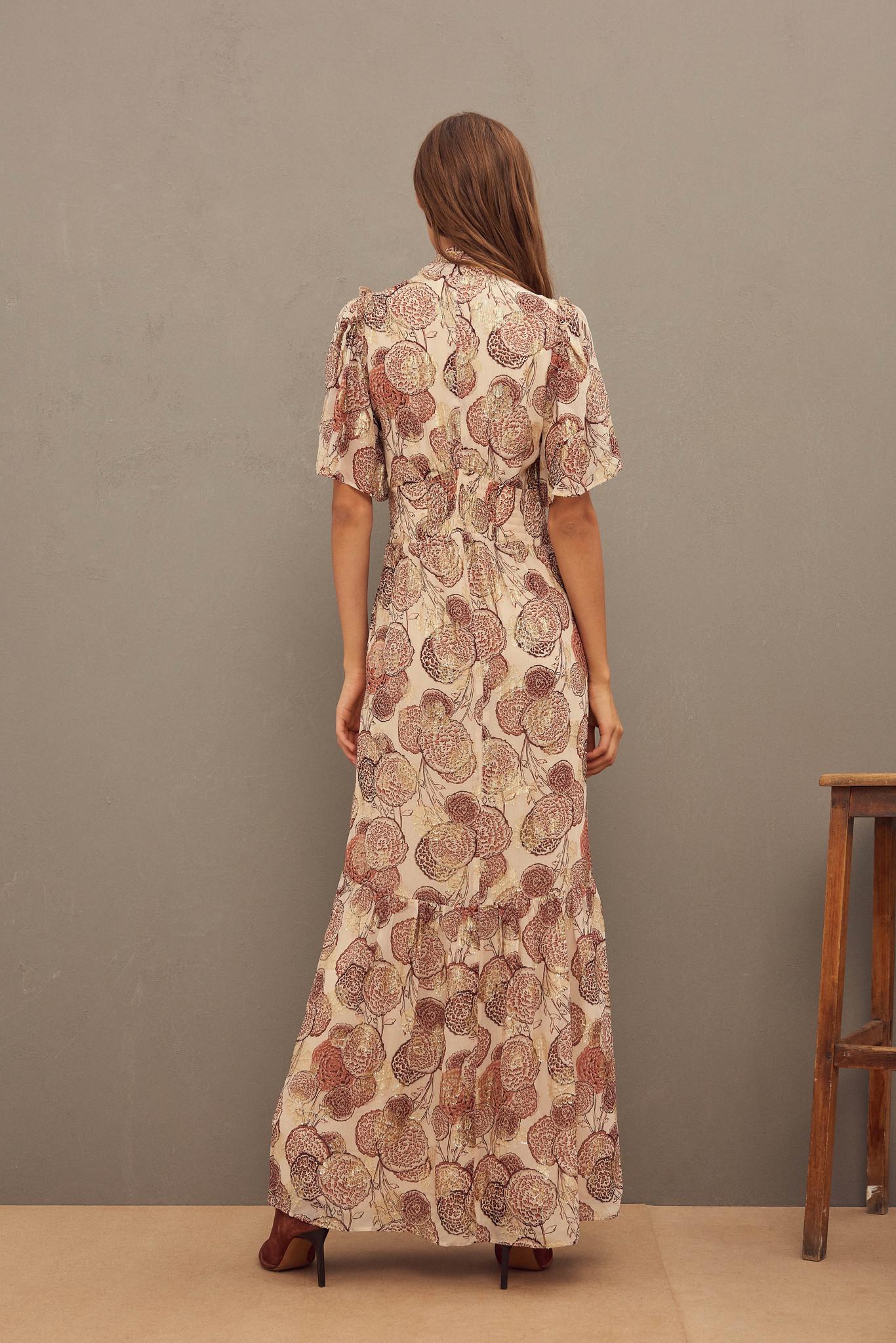 Hide Dress Maxi - Pink-5