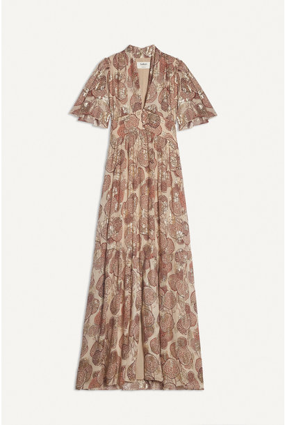 Hide Dress Maxi - Pink