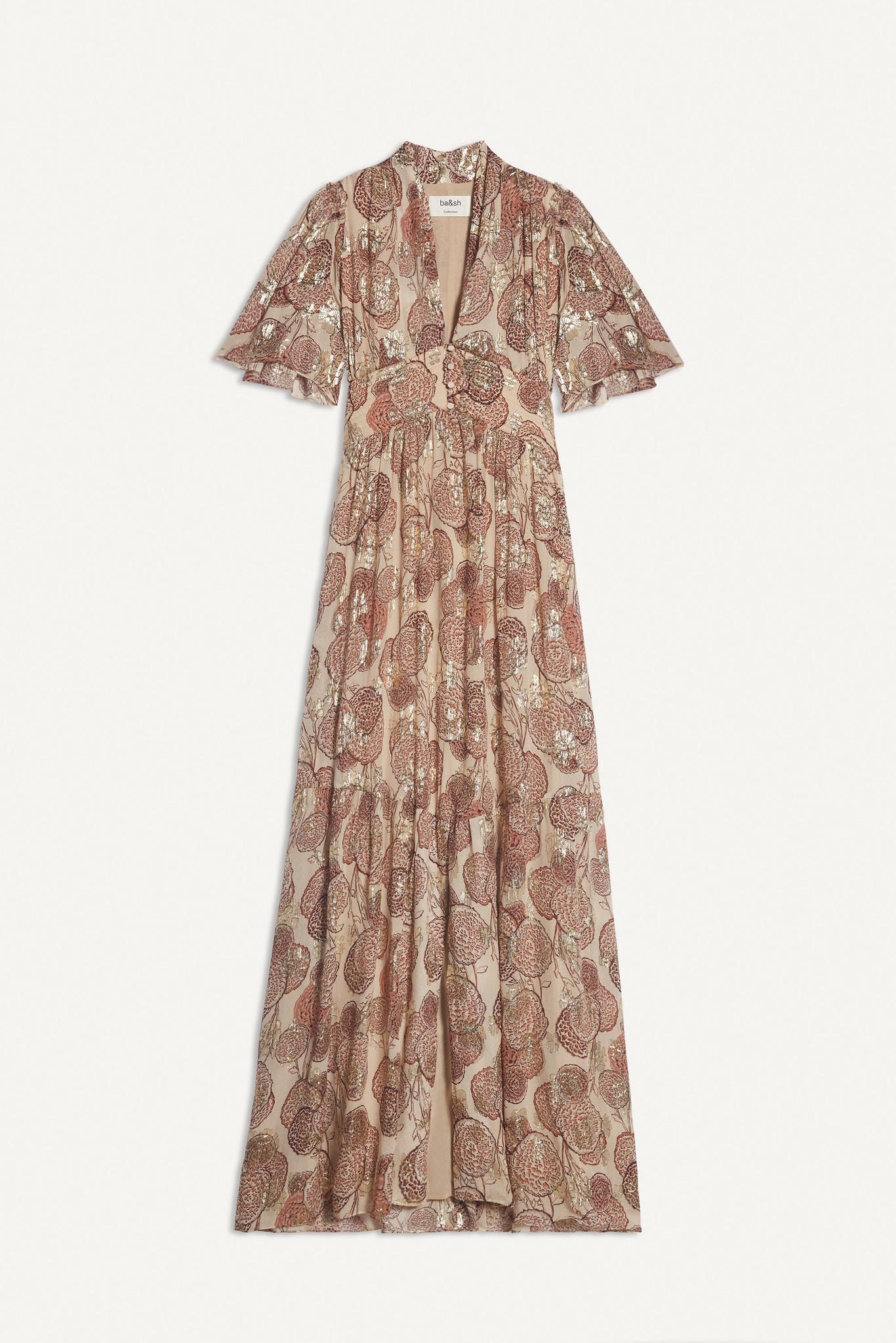 Hide Dress Maxi - Pink-1
