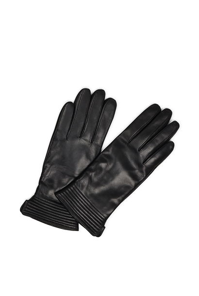 Yola Handschoen Leer - Zwart