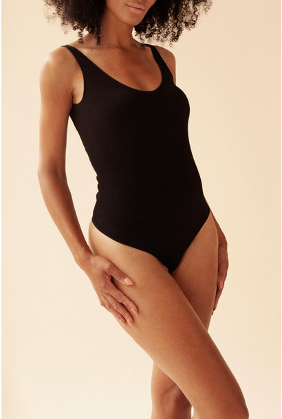 Rib Body - Zwart