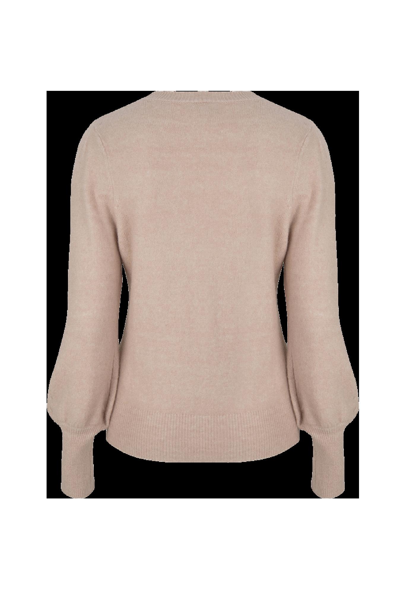 Kinsley Ajour Knit Sweater - Light Powder Rose L-4