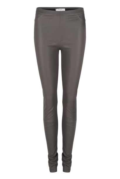 Campbell Leather Legging - Deep Grey