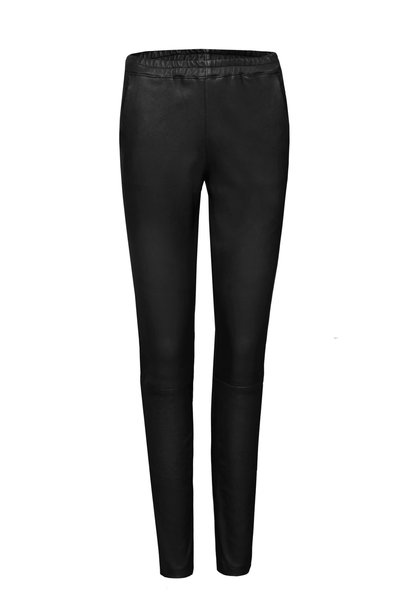 Suzanne Pants Leather - Black