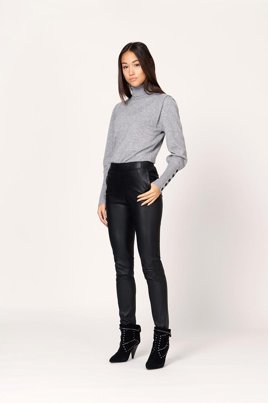 Quentin Sleeve Detail Sweater - Urban Grey-2