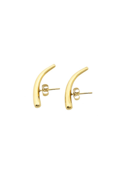 In Ear Earring - Gold