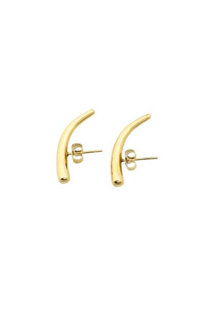In Ear Earrings - Gold