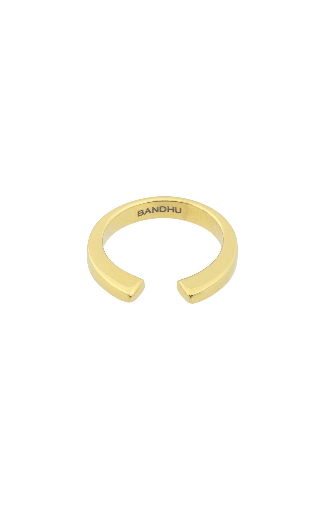 Vinyasa Ring - Gold-5