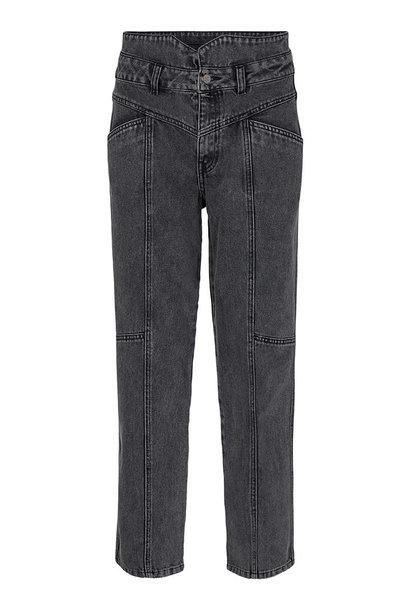 Zora Jeans - Black Stonewash