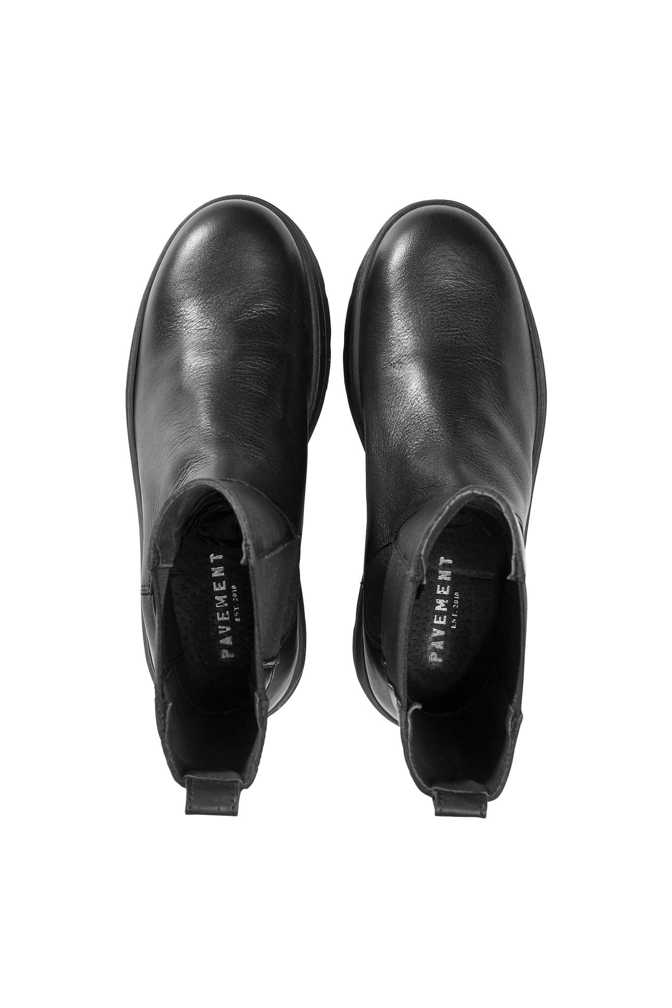 Aya Leather Boot - Black-3