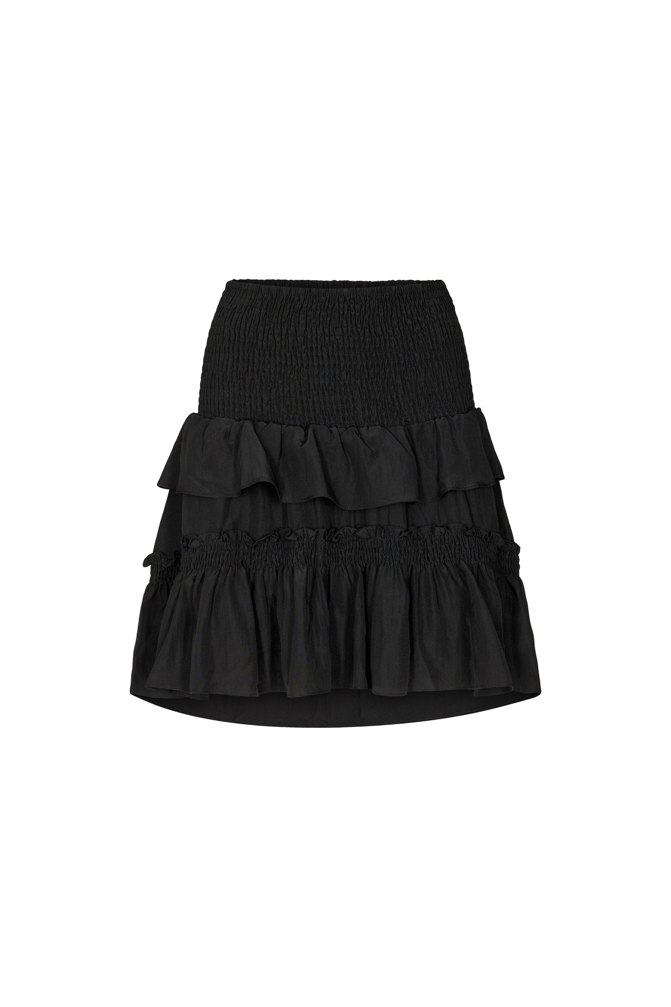 Keeva Smock Skirt - Black-1