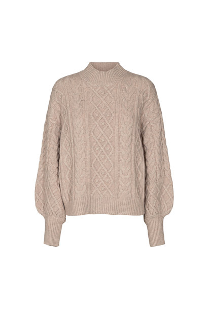 Dany Cable Knit - Bone