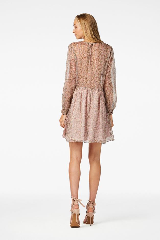 Kailey Mini Dress - Flower Pink-3