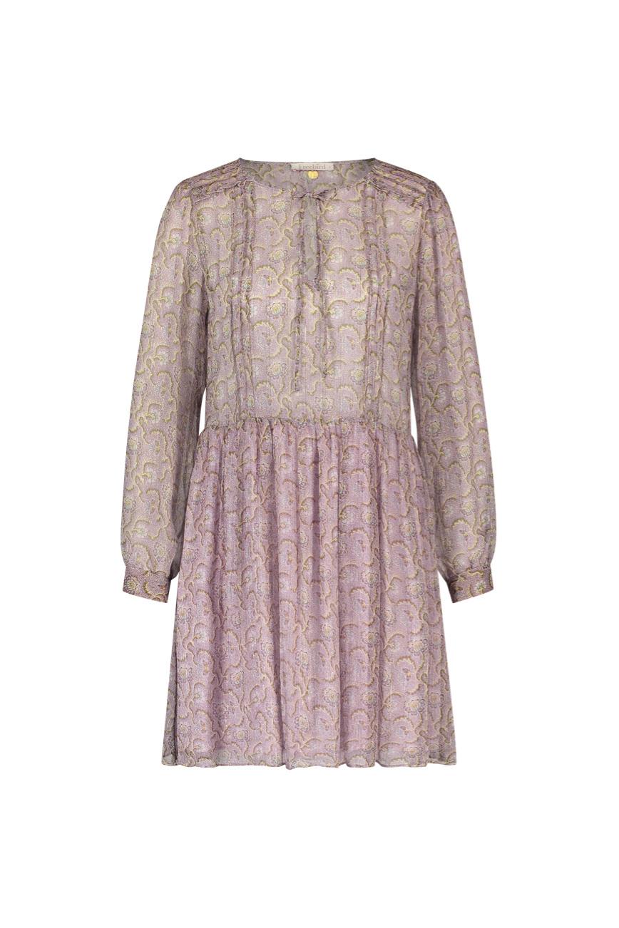 Kailey Mini Dress - Flower Pink-1