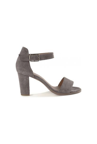 Silke Sandal - Grey Suede