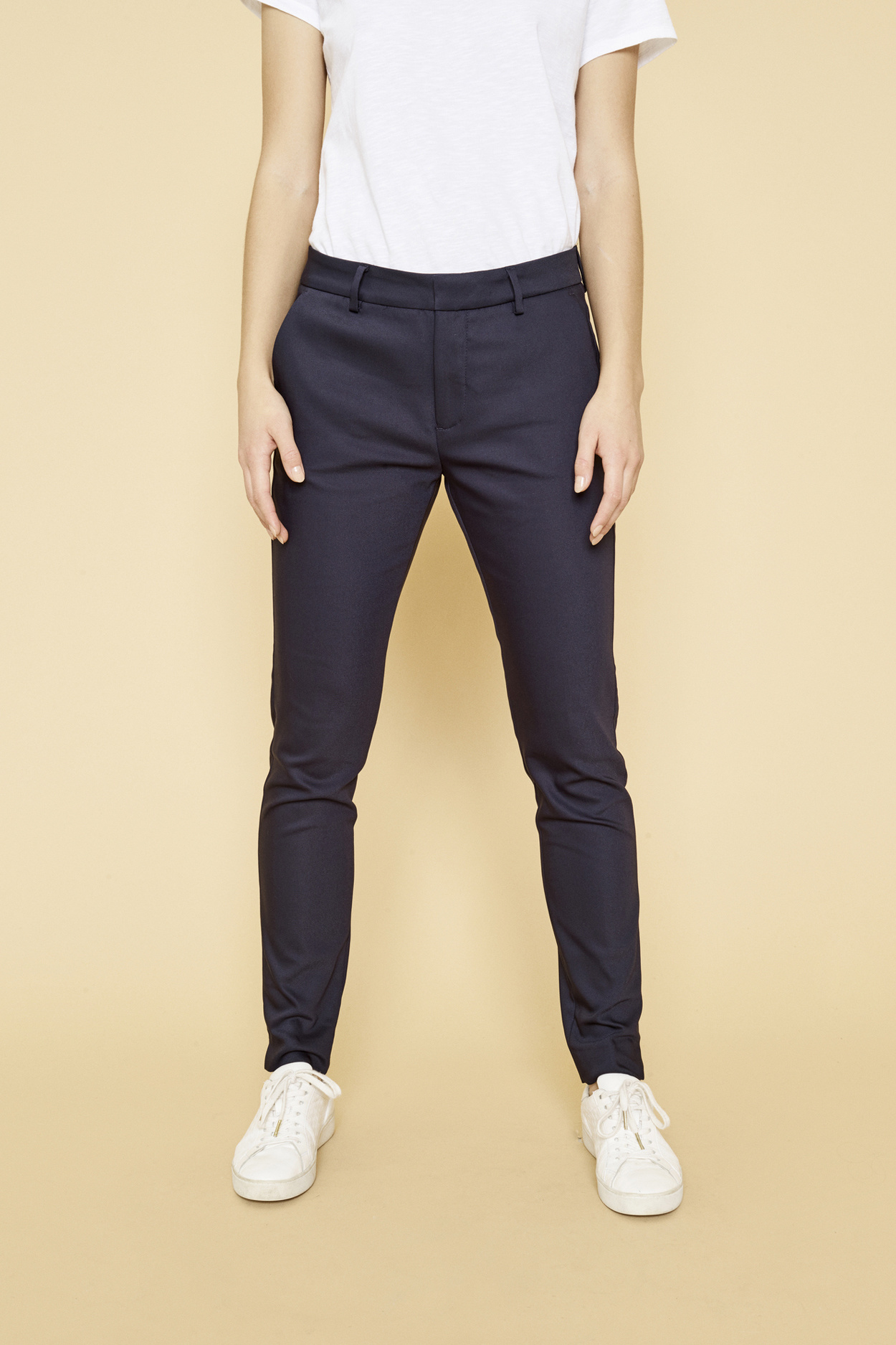 Abbey Night Pant Sustainable - Navy-6